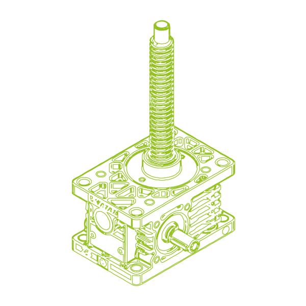 R-Trapezoidal screw 5kN   18x4
