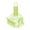 R-Trapezoidal screw 750kN | 140x20