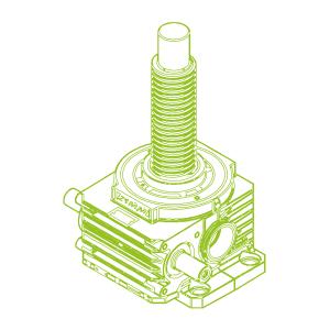 750kN-140×20-R-Trapezoidal screw
