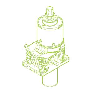 250kN-80×60-S-Ball screw