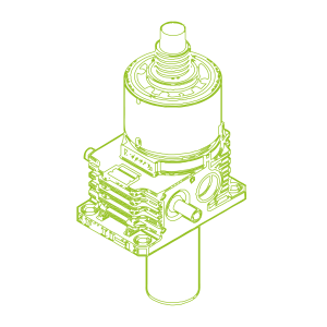 350kN-100×80-S-Ball screw