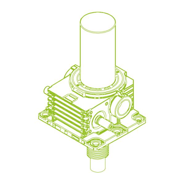 Z S-Trapezoidal screw 1000kN | 160x20