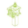 S-Trapezoidal screw 100kN | 55x9