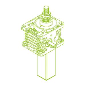 100kN-55×9-S-Trapezoidal screw