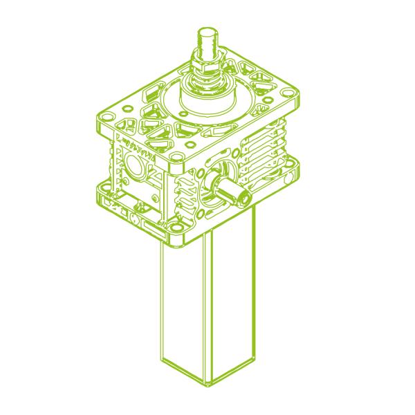 Z S-Trapezoidal screw 10kN | 20x4