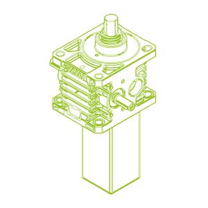 150kN-60×9-S-Trapezoidal screw