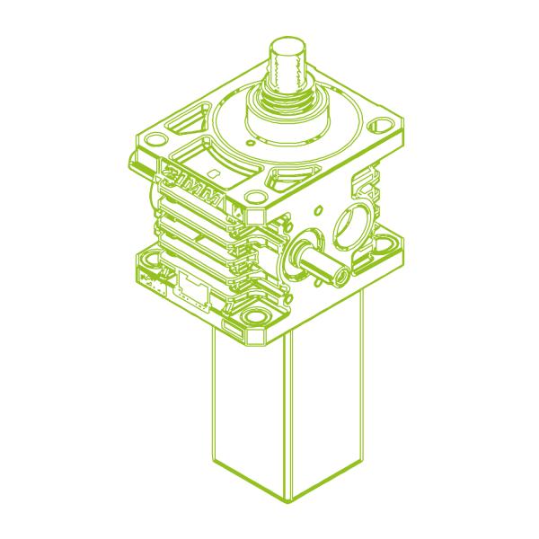 S-Trapezoidal screw 150kN   60x9