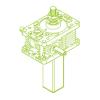 S-Trapezoidal screw 25kN   30x6