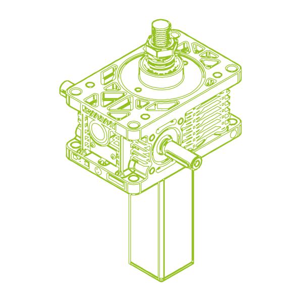 S-Trapezoidal screw 25kN | 30x6