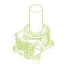 S-Trapezoidal screw 350kN | 100x16