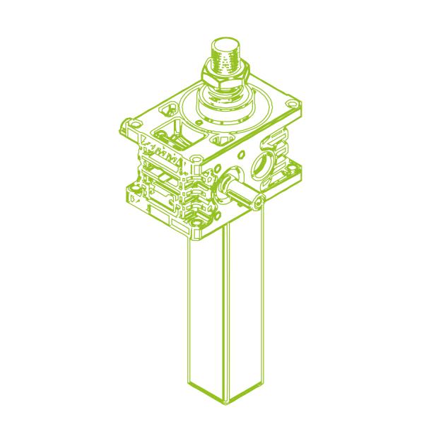 S-Trapezoidal screw 35kN   40x7