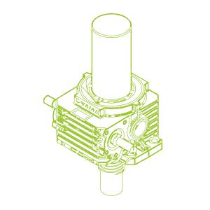 S-Trapezoidal screw 500kN | 120x16