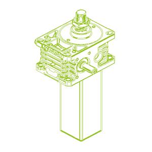 S-Trapezoidal screw 50kN | 40x7