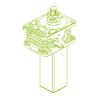 S-Trapezoidal screw 50kN | 50x8