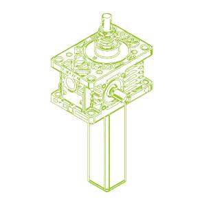 Z S-Trapezoidal screw 5kN | 18x4