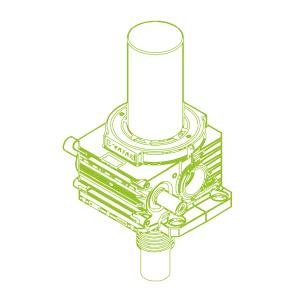 S-Trapezoidal screw 750kN | 140x20