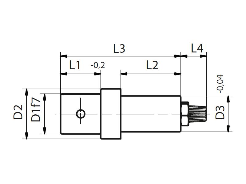 Bearing bolt LBB   bearing mount LB
