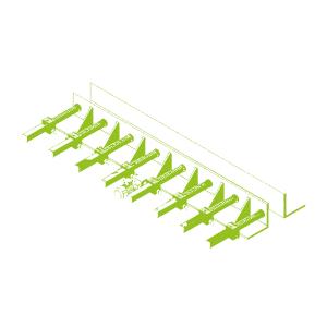 Adjustment of steel