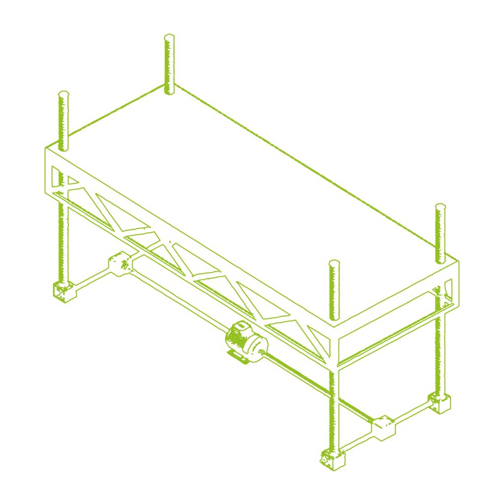 Platform height adjustment