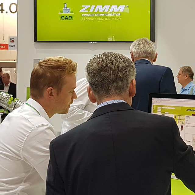 ZIMM at the Motek 2018