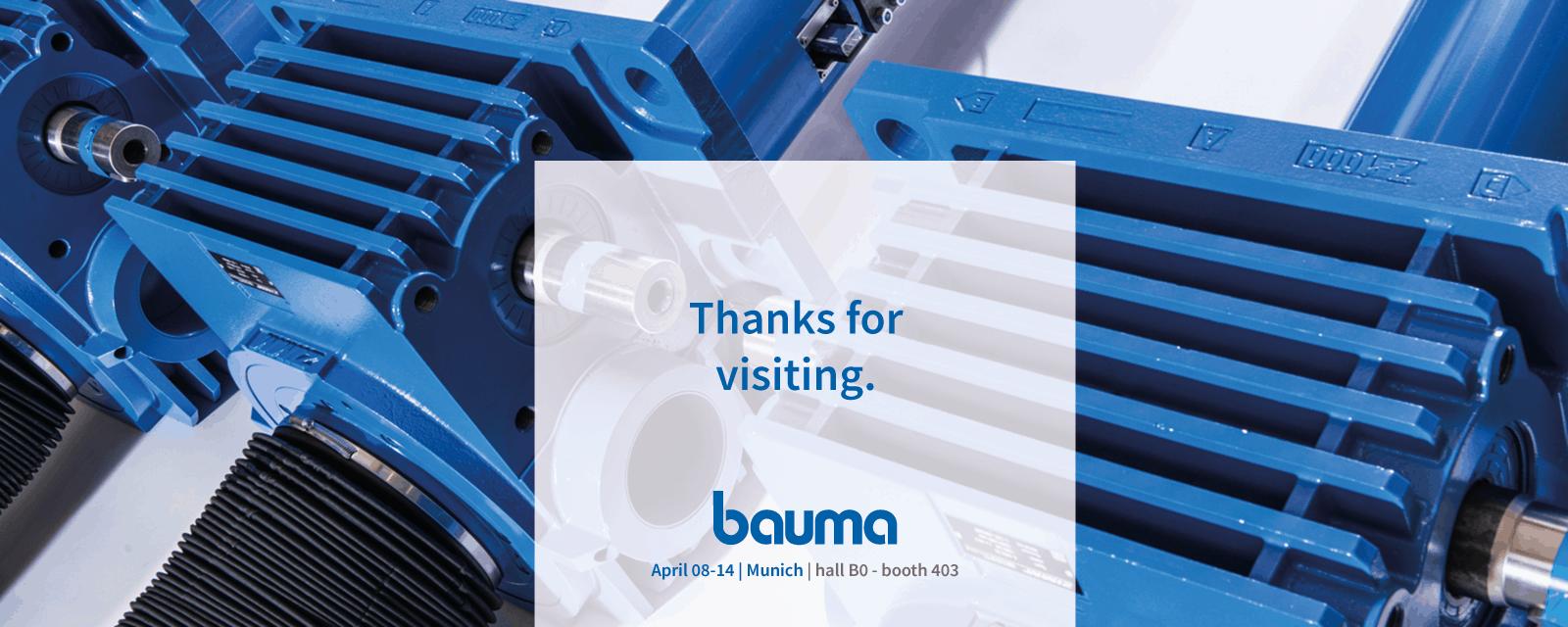BAUMA – ZIMM was there!