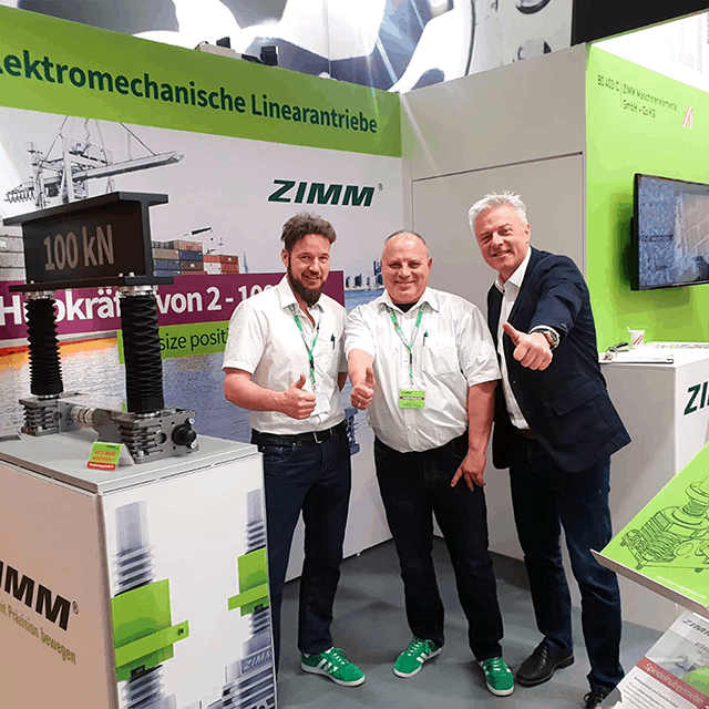 BAUMA - ZIMM was there!